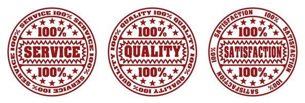 Service, quality, satisfaction