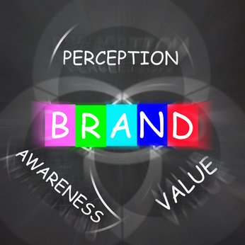 Company Brand Displaying Awareness and Perception of Value