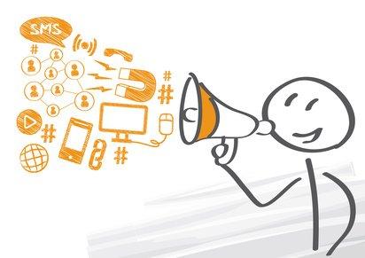 app, business, computer, daten, dialog, digital, zielgruppe, erfolg, flach, geschäftsmann, viral, virales, kurznachricht, Megafon, icon, icons, idee, illustration, information, internet, kommunikation, konzept, netzwerk, manager, männchen, Strichmännchen, marketing, medien, mitteilung, online, social media, sozial, symbol, technologie, werbung, wirtschaft, wolke, zeichen